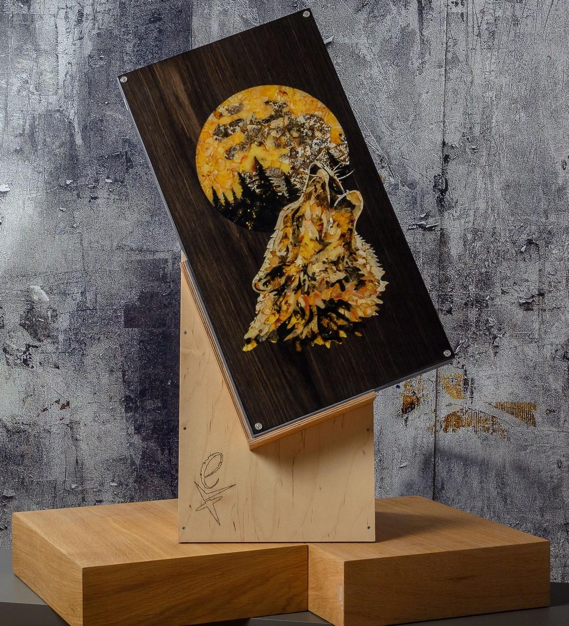 Нарды «Волк» из коллекции дикая природа