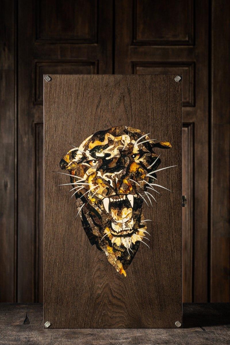 Нарды «Пантера» из коллекции дикая природа