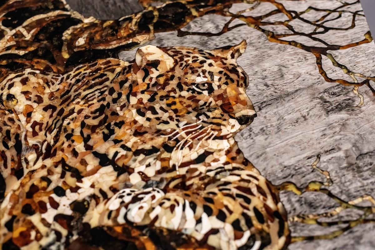 Панно «Леопард»