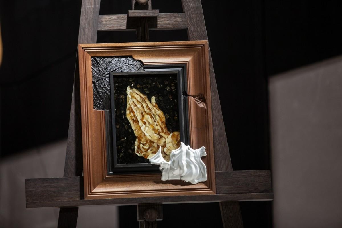 Панно «Руки молящегося» из коллекции «Галерея шедевров»