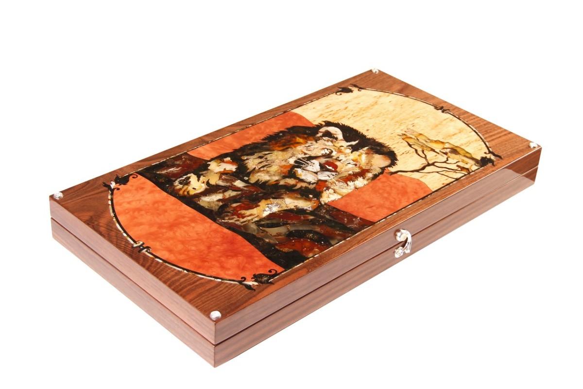 Нарды «Саванна» из коллекции дикая природа