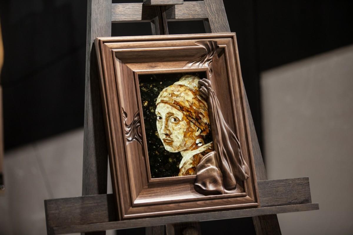 Панно «Девушка с жемчужной сережкой» из коллекции «Галерея шедевров»